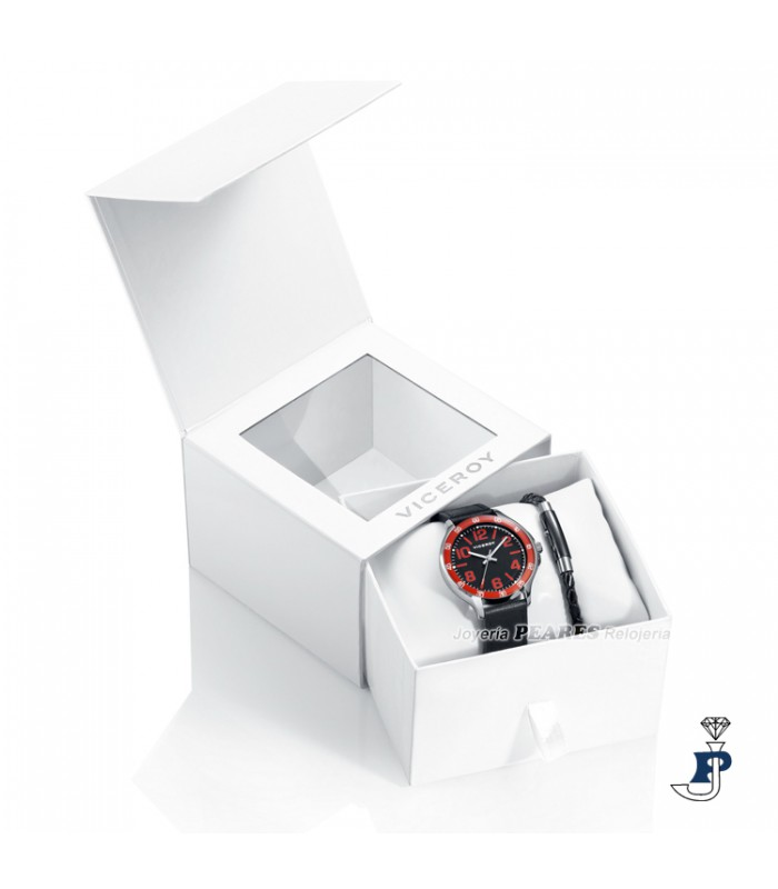 5f19d20cb672 Pack Reloj VICEROY y pulsera para niño. - 401063-55 - Joyeria Peares