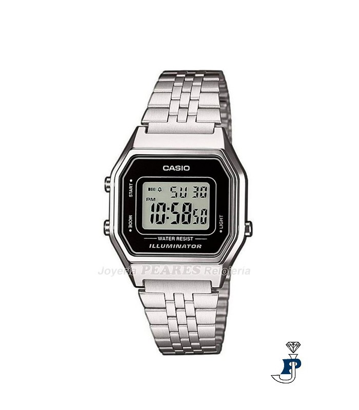 Reloj Casio digital retro. - LA-680WA-1E