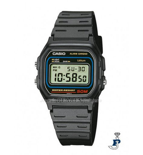 Reloj Casio digital. - W-59-1