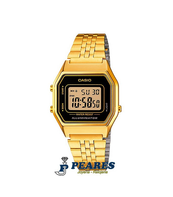 Reloj Casio digital retro. - LA-680WGA-1D