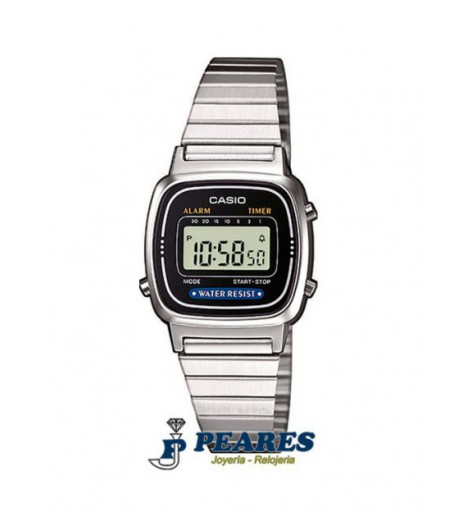Reloj Casio digital Retro. - LA670WD-1DF