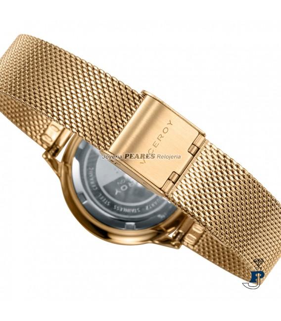 Reloj VICEROY malla milanesa y cerámica. - 471182-97