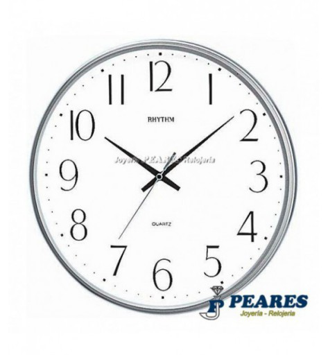 Reloj Rhythm de pared. - CMG817