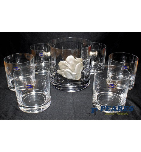 Juego Whisky cristal. - 92.023500001