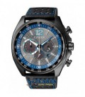 Reloj Citizen Eco-Drive, diseño racing. - CA4199-17H